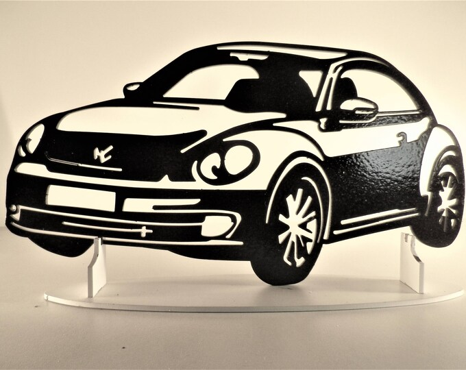 Plate teaches VW new BEETLE
