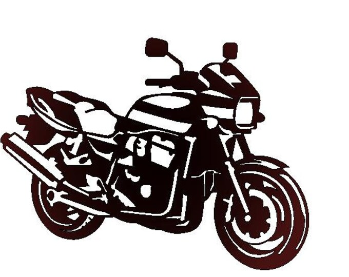 Kawasaki 1100 ZRX metal plate