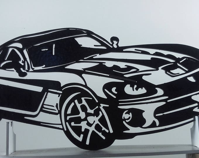 Plate teaches decorative DODGE VIPER