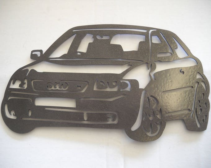 AUDI S3 painted iron sign