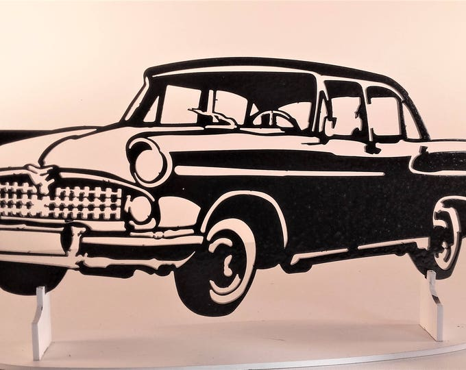 SIMCA CHAMBORD sign plate in painted iron
