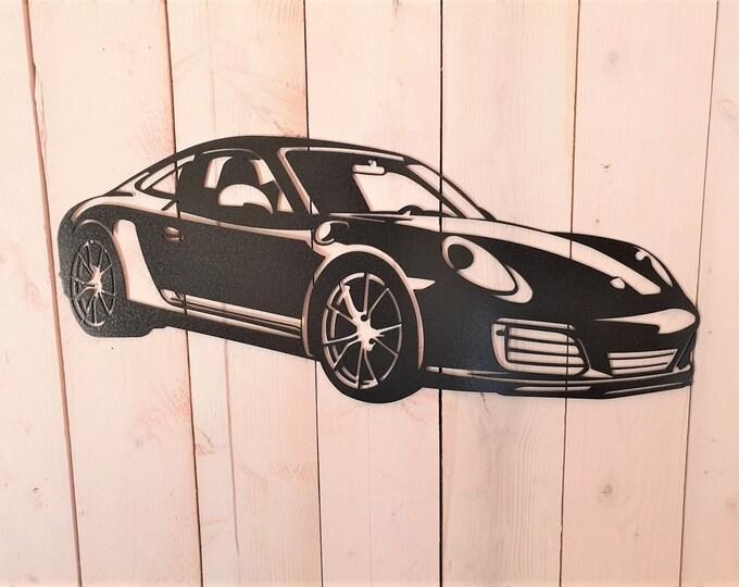 Plate Porsche carrera T