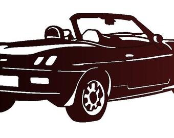 METAL plate FIAT BARCHETTA