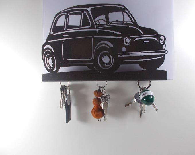 FIAT 500, hook key case