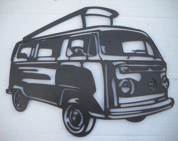 Painted iron shop sign COMBI Volkswagen WESTFALIA plate