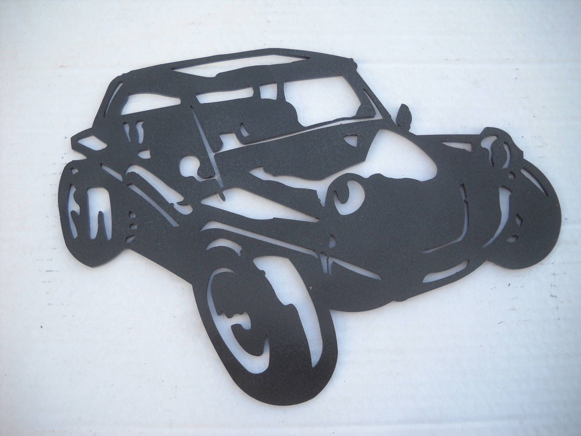 plaque enseigne buggy vw en fer peint etsy. Black Bedroom Furniture Sets. Home Design Ideas