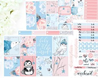 WINTER VRIENDEN | 6 pagina Sticker Kit | PREORDER | ECLPVertical