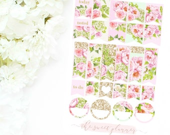 FLORAL BEAUTY | Page Flag Sticker Sheet
