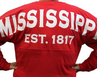 detailed look 3c54b 35f23 Alabama spirit jersey | Etsy