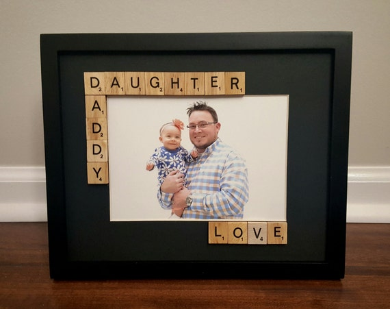 Daddy Daughter Picture Frame, Fathers Day Gift, Father Daughter ...