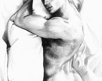 Good morning. Print. 20x30 cm.