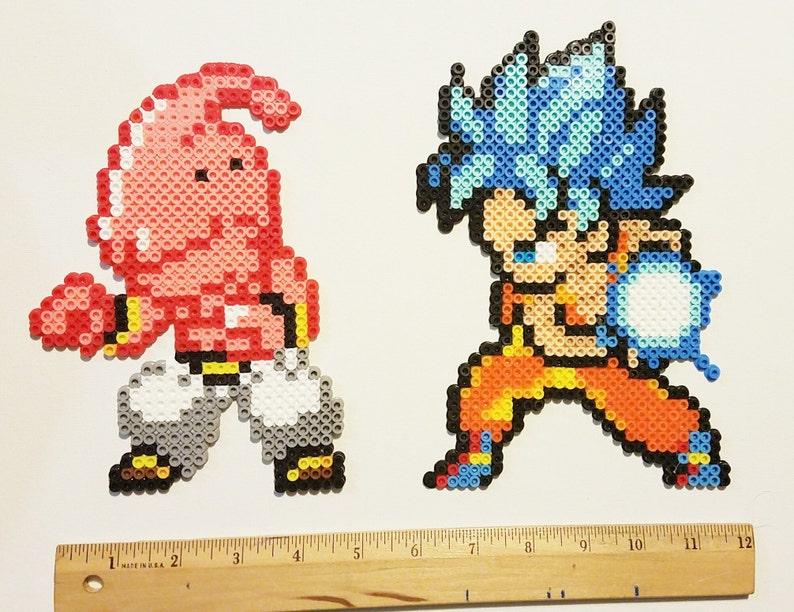 Super Saiyajin Gott Goku Oder Kid Buu Dragonball Super Fanart Etsy