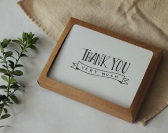 Thank You Card Set