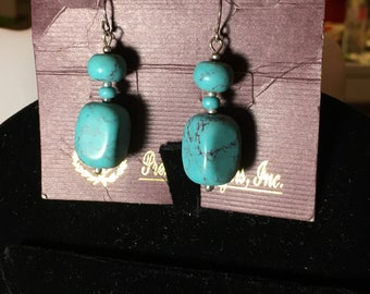 Premier Designs Cabo Turquoise earrings