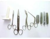 Vintage Scissors German Germany Pipe Tamper Knife Pocket Knives lot
