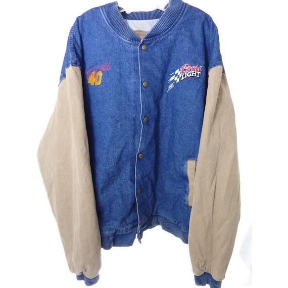 Coors Light Varsity Jean Jacket 40 Sterling Marlin Size 2XL 3pztT