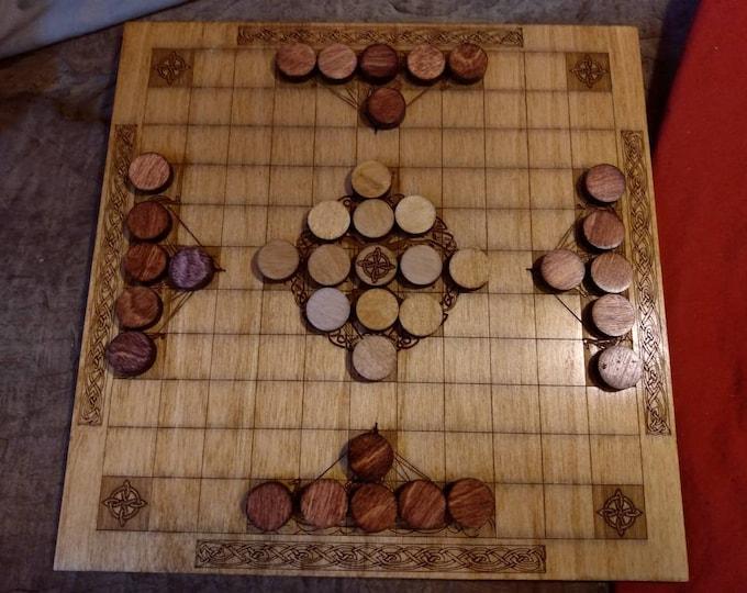 Hnefatafl (Tafl) Decorative Viking Board Game