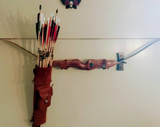 Bow and Archery Wall Display