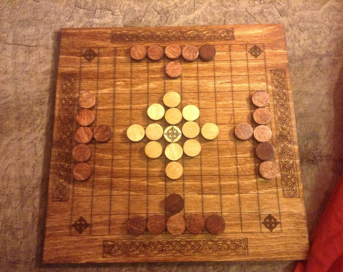 Hnefatafl (Tafl) Board Game