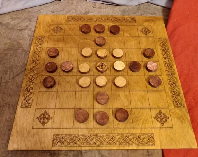 Ard Ri and Brandubh Tafl Board Game Variants