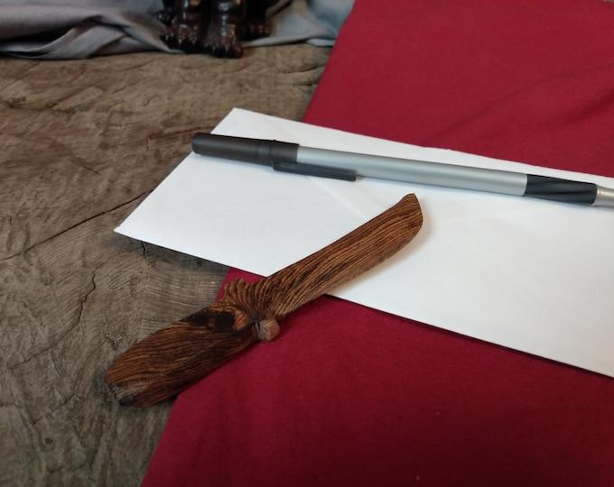 Zebra Wood Letter Opener #23