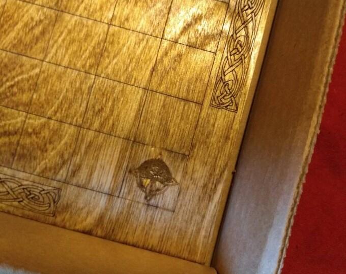 Damaged Hnefatafl (Tafl) Board Game
