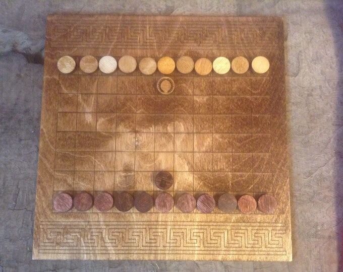 Ludus Latrunculorum Board Game