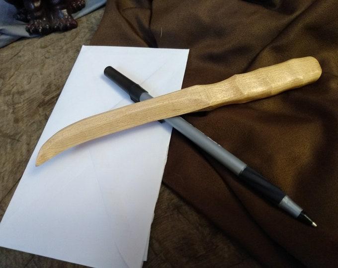 Maple Wood Letter Opener #7