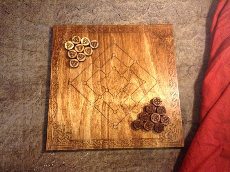 Nine Mens Morris Board Game image 0