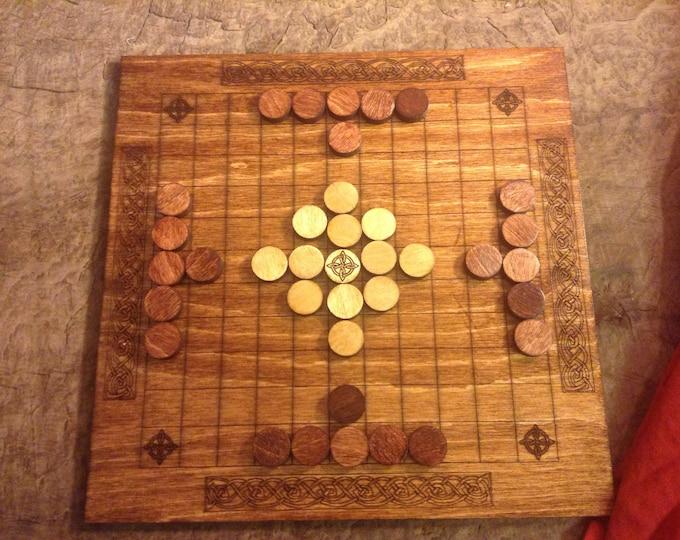 Hnefatafl (Tafl) Board Game