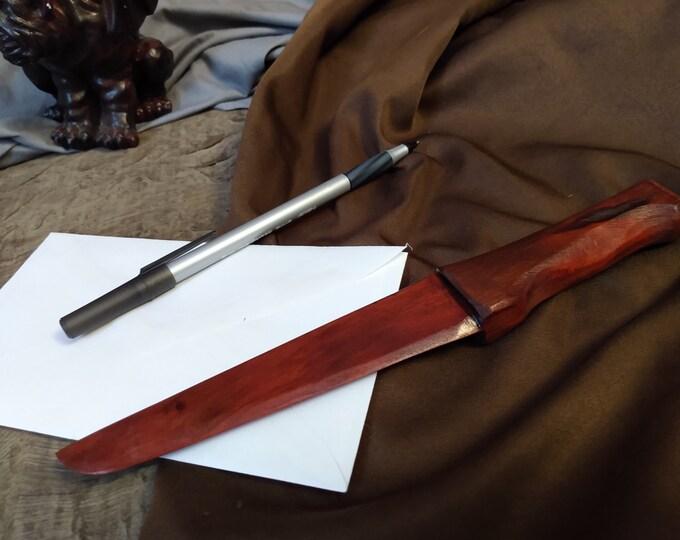 Redheart Wood Letter Opener #14