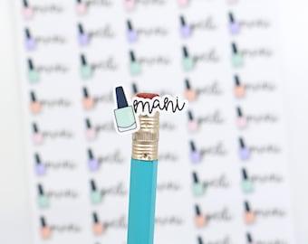 Mani & Pedi Planner Stickers