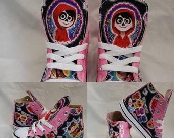 Custom handsewn Converse shoes for kids & par HallwayzDesigns