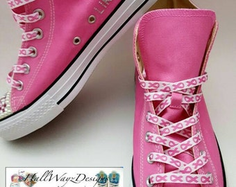 70de0cefa20179 Pink-Ribbon Breast Cancer Awareness shoes Converse