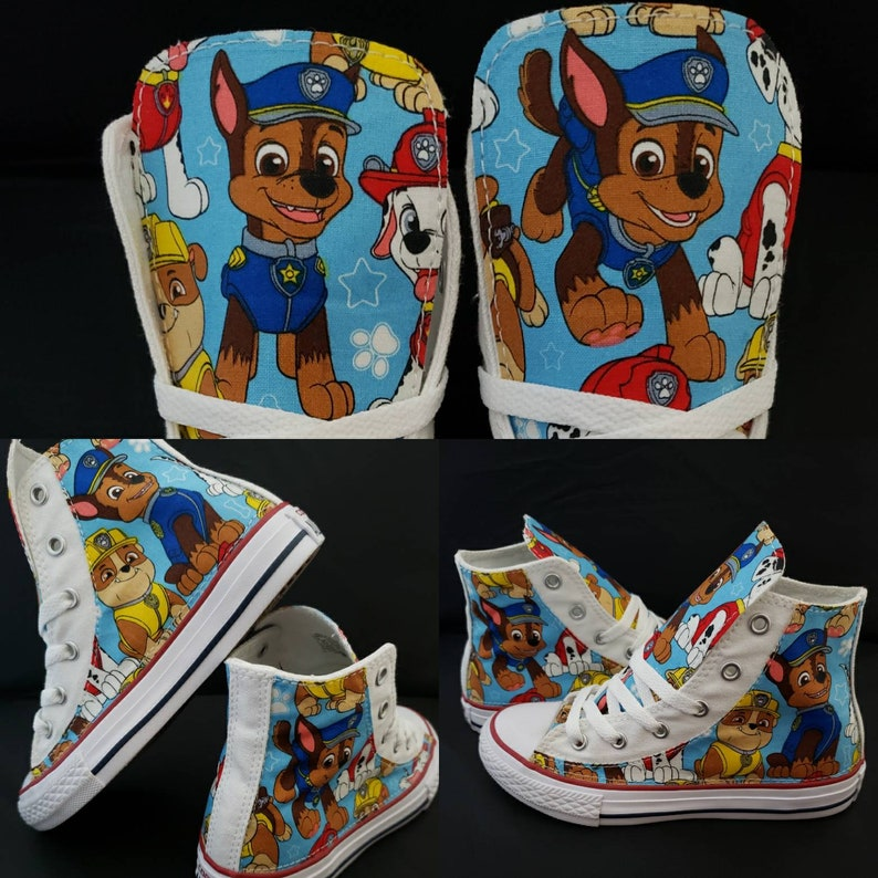 a8cd2a76680f5e Paw Patrol Birthday personalized Pawpatrol Converse Shoes