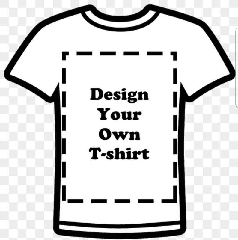 0c87bf59 Design your own T-Shirt/ Character Shirt with Name. Shirt will | Etsy
