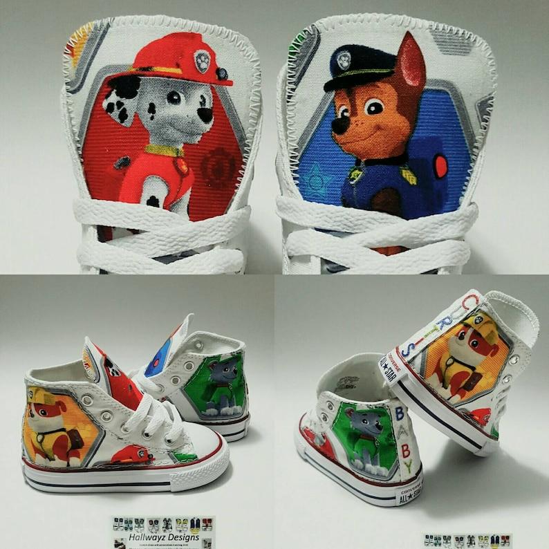 73233b8aa24d Paw Patrol Converse shoes boy birthday sneakers custom