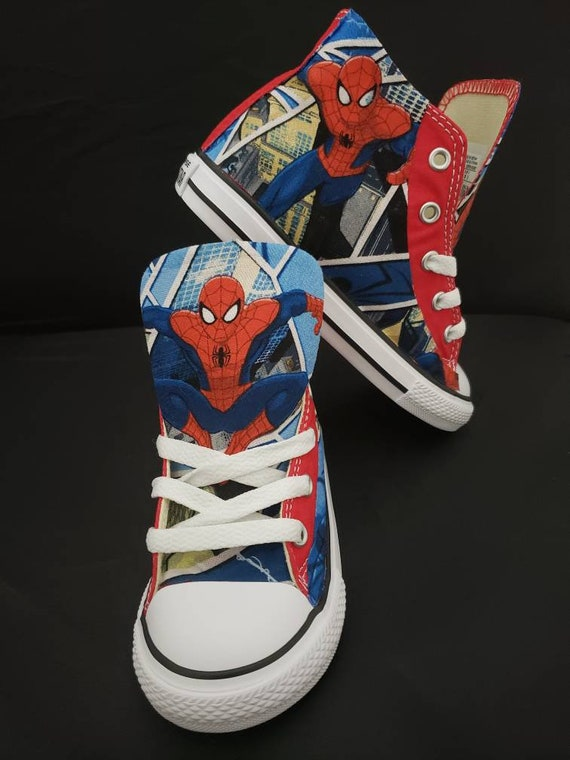 Custom Power Ranger Converse, boy birthday shoes, dino