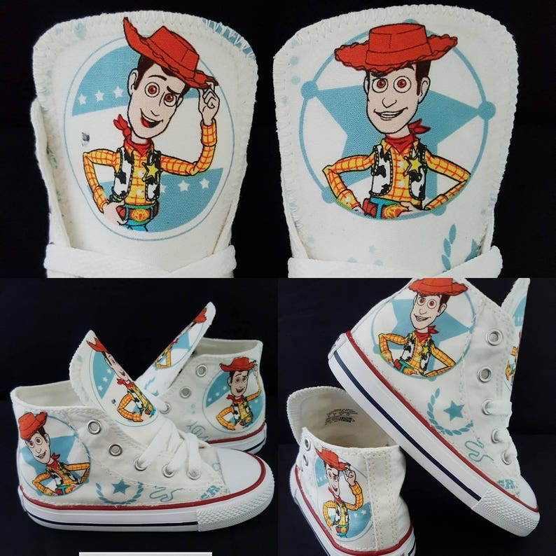 8c3a0505d4 Toy story birthday. Woody shoes toystory party white woody