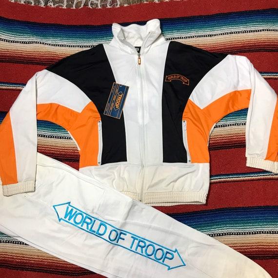 80s troop tracksuit ll cool j worldwide 90s tood1