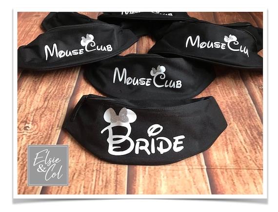 Bride To Be Personalised Wedding Gift Bride Groom Hen Party Bum Bag