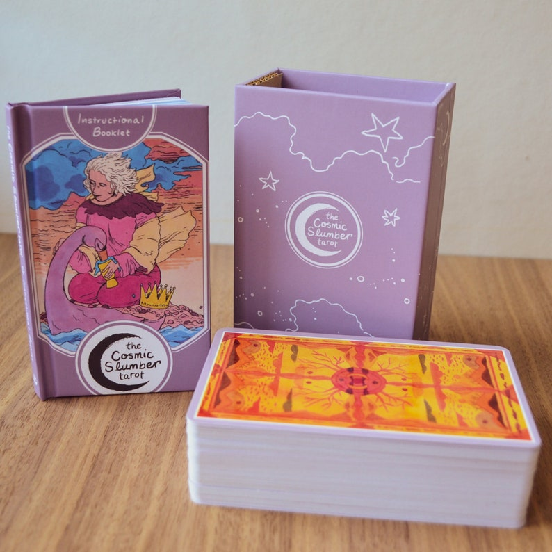 The Cosmic Slumber Tarot Kit Box & Book image 0