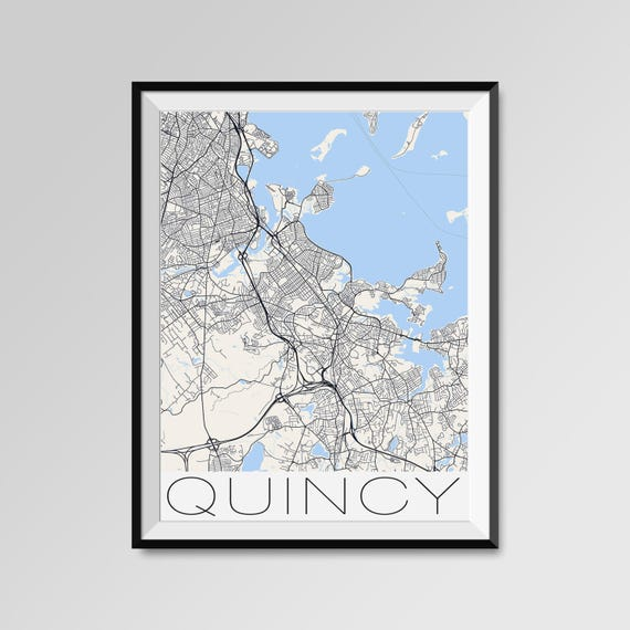 QUINCY Machusetts Map, Quincy City Map Print, Quincy Map Poster, Quincy on city of quincy map, quincy fl map, quincy il attractions, great lakes illinois street map, quincy il ward map, quincy il history, quincy il architecture, quincy il zip code, quincy il schools, quincy mi map, quincy il bars, quincy street map, quincy il hotels, adams county quincy illinois map, quincy il weather, quincy il parks, quincy il city flag, quincy il restaurants, quincy il shopping, quincy il city hall,