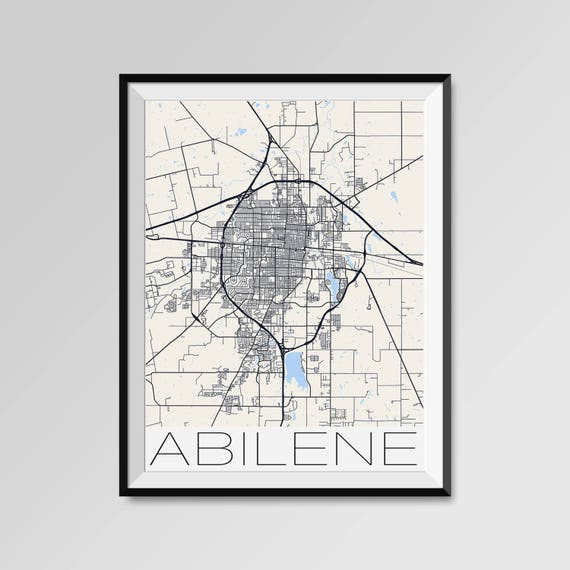 ABILENE Texas Map, Abilene City Map Print, Abilene Map Poster, Abilene on map texas tx, map of taylor county tx, map of guthrie tx, map of post tx, map of glendale tx, map of hill county tx, map of shreveport tx, map of hamlin tx, map of knox city tx, map of spartanburg tx, map of texoma tx, map of ardmore tx, map of garza county tx, map of dimmit county tx, map of young county tx, map of memphis tx, map of tuscola tx, map of menard county tx, map of winkler county tx, map of crane tx,