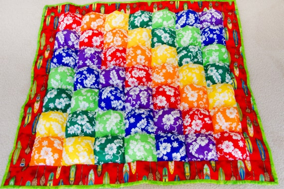 Create Your Own Puff Quilt The Easy Way Baby Or Kids Quilt Etsy