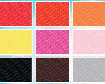 Bright Crayola™ Kaleidoscope from Riley Blake Fabrics, tone on tone orange peel circle pattern, Cut to Order, Quilting Cotton