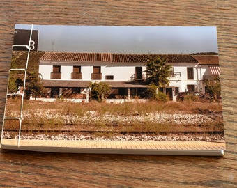 Handmade notebook - Andalucia station