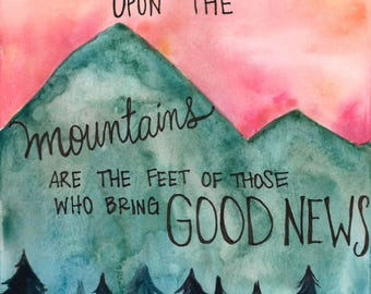 Upon the Mountains