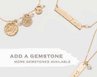 Add a gemstone to your jewelry • ADG