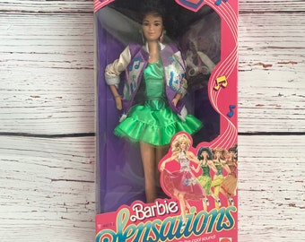 1987 Barbie and The Sensations BECKY Doll Mattel #4977/ New in open box/ vintage Barbie Doll/ Barbie collector gift